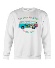 LOVE PEACE ROAD TRIP Crewneck Sweatshirt thumbnail