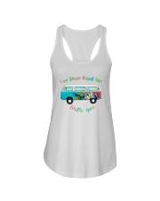LOVE PEACE ROAD TRIP Ladies Flowy Tank thumbnail