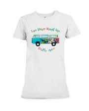 LOVE PEACE ROAD TRIP Premium Fit Ladies Tee thumbnail