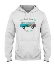 LOVE PEACE ROAD TRIP Hooded Sweatshirt thumbnail