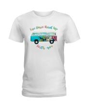 LOVE PEACE ROAD TRIP Ladies T-Shirt thumbnail