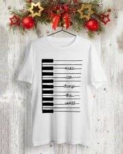 MUSIC CAN CHANGE THE WORLD  Classic T-Shirt lifestyle-holiday-crewneck-front-2