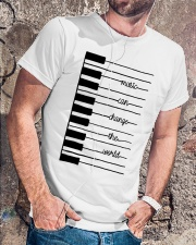 MUSIC CAN CHANGE THE WORLD  Classic T-Shirt lifestyle-mens-crewneck-front-4