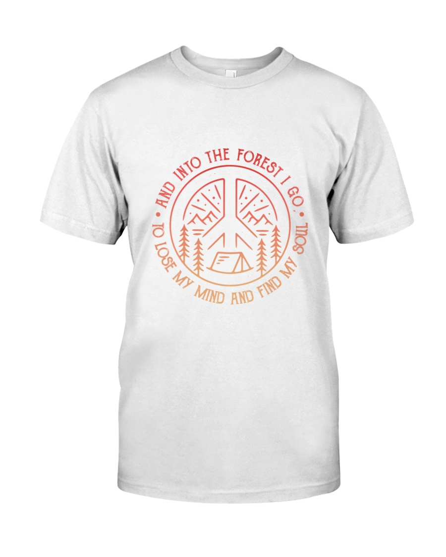 CP-D25021917-And Into The Forest 1 Classic T-Shirt