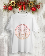 CP-D25021917-And Into The Forest 1 Classic T-Shirt lifestyle-holiday-crewneck-front-2