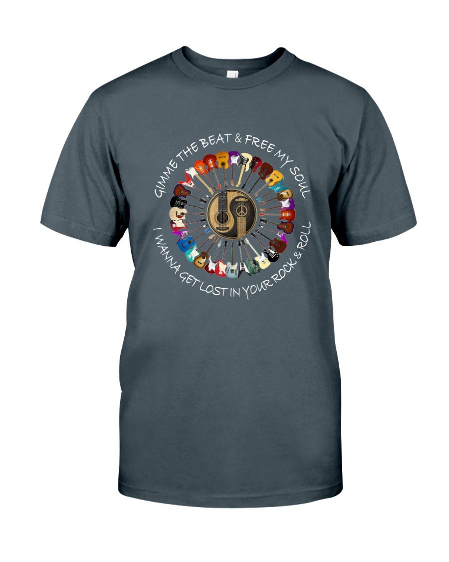 PEACE ROCK Classic T-Shirt