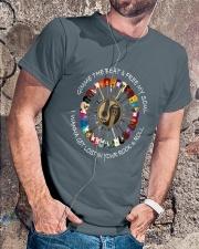 PEACE ROCK Classic T-Shirt lifestyle-mens-crewneck-front-4