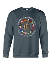 PEACE ROCK Crewneck Sweatshirt thumbnail