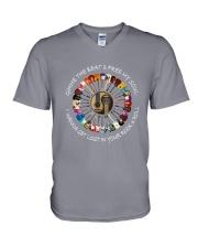 PEACE ROCK V-Neck T-Shirt thumbnail