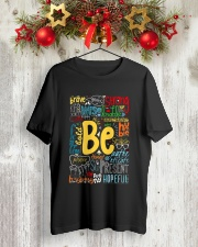 BE STRONG Classic T-Shirt lifestyle-holiday-crewneck-front-2