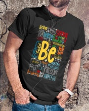 BE STRONG Classic T-Shirt lifestyle-mens-crewneck-front-4