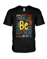 BE STRONG V-Neck T-Shirt thumbnail