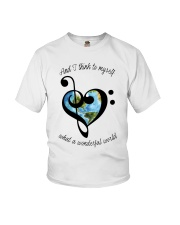 Myself What A Wonderful World 5 Youth T-Shirt thumbnail