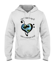 Myself What A Wonderful World 5 Hooded Sweatshirt thumbnail