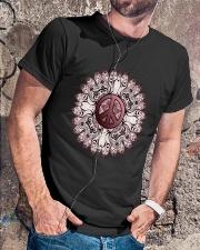 MANDALA PEACE Classic T-Shirt lifestyle-mens-crewneck-front-4