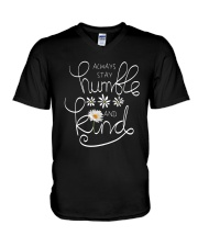 ALWAYS STAY HUMBLE AND KIND V-Neck T-Shirt thumbnail