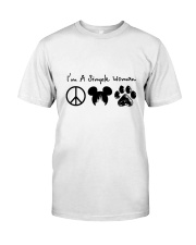 I Am A Simple Woman Classic T-Shirt front