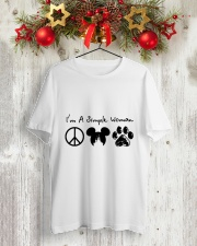 I Am A Simple Woman Classic T-Shirt lifestyle-holiday-crewneck-front-2
