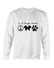 I Am A Simple Woman Crewneck Sweatshirt thumbnail