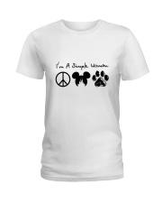 I Am A Simple Woman Ladies T-Shirt thumbnail
