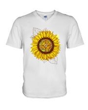 FLOWER V-Neck T-Shirt thumbnail