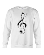 Let It Be Music Note Crewneck Sweatshirt thumbnail