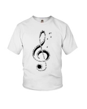Let It Be Music Note Youth T-Shirt thumbnail