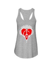 PEACE HEART Ladies Flowy Tank thumbnail
