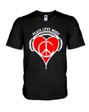 PEACE HEART V-Neck T-Shirt thumbnail