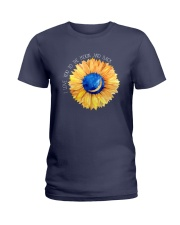 LOVE TO THE MOON Ladies T-Shirt thumbnail