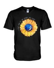 LOVE TO THE MOON V-Neck T-Shirt thumbnail