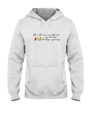 LIFE IS LIKE MUSIC Hooded Sweatshirt thumbnail