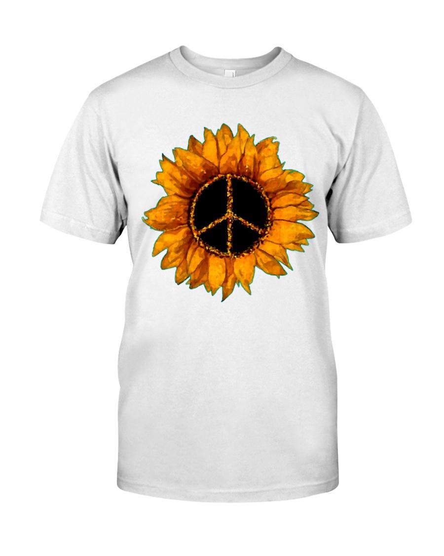 PEACE SUNFLOWER 2 Classic T-Shirt