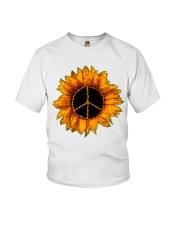 PEACE SUNFLOWER 2 Youth T-Shirt thumbnail
