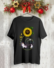 PEACE FLOWER Classic T-Shirt lifestyle-holiday-crewneck-front-2