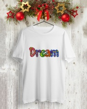 DREAM Classic T-Shirt lifestyle-holiday-crewneck-front-2