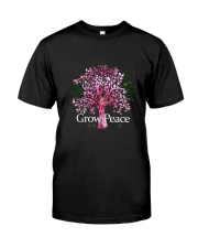 Grow Peace Premium Fit Mens Tee front