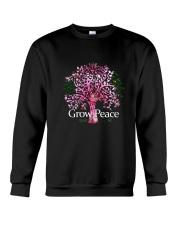 Grow Peace Crewneck Sweatshirt thumbnail