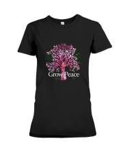 Grow Peace Premium Fit Ladies Tee thumbnail