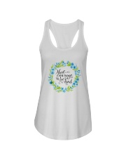 HAVE COURAGE AND BE KIND Ladies Flowy Tank thumbnail