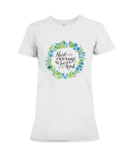 HAVE COURAGE AND BE KIND Premium Fit Ladies Tee thumbnail