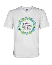 HAVE COURAGE AND BE KIND V-Neck T-Shirt thumbnail