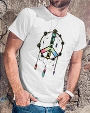 Peace Paiting Classic T-Shirt lifestyle-mens-crewneck-front-4