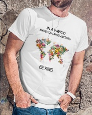 Be Kind In A World Classic T-Shirt lifestyle-mens-crewneck-front-4