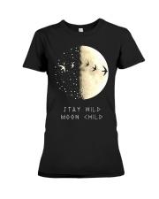 STAY WILD MOON CHILD Premium Fit Ladies Tee thumbnail