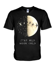 STAY WILD MOON CHILD V-Neck T-Shirt thumbnail