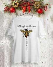 Imagine 2 Classic T-Shirt lifestyle-holiday-crewneck-front-2