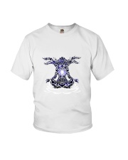Yoga Mandala Youth T-Shirt thumbnail