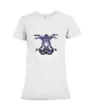 Yoga Mandala Premium Fit Ladies Tee thumbnail