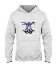 Yoga Mandala Hooded Sweatshirt thumbnail